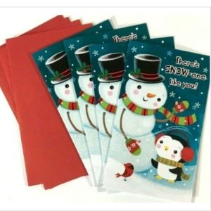 American Greetings Gift Christmas Cards Pop Out Sn